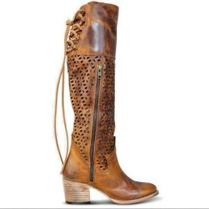 be5321a498c Freebird by Steven Shoes - Stunning Distressed Cognac Freebird Boots